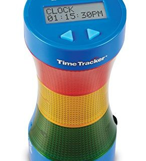 Learning Resources LER6900  Time Tracker Visual Timer & Clock, Blue