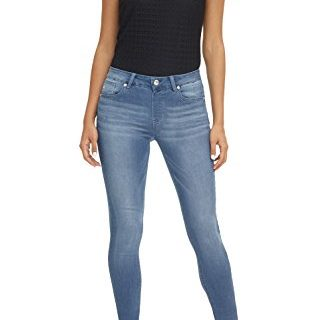 Rekucci Women's Ease in to Comfort Super Soft 5 Pocket Denim Skinny Leg