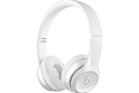 Gloss White – Beats Solo3 Wireless On-Ear Headphones