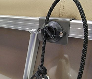 Fender Clip for Pontoon Boats 2ea, for 1/4″ rope