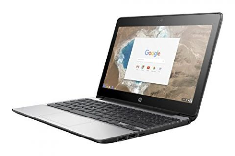 HP Chromebook 11 G5, 11.6″, Celeron, 4GB, 16GB, X9U02UT