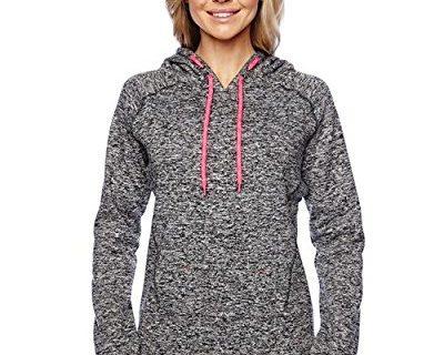 J. America Ladies pullover hooded sweatshirt