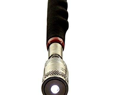 Magnetic Pickup Tool- Led Light Telescoping Handle Magnet Pick up 8 Lb Lift Capacity By bogo Brands