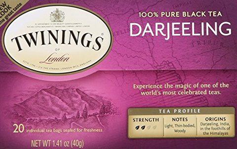 Twinings Darjeeling Tea, Tea Bags, 20 Count