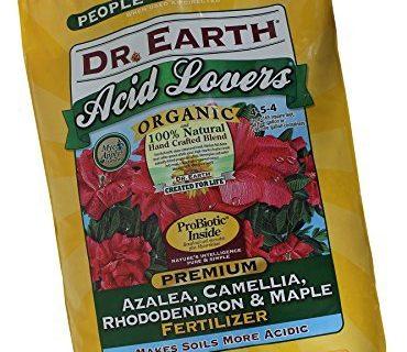 Dr. Earth 710 Organic 4 Azalea/Camellia/Rhododendron Fertilizer, 12-Pound