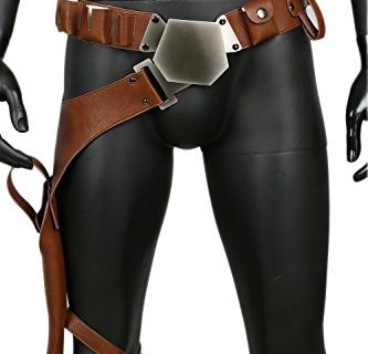 Han Solo Cosplay Belt Holster Pu Leather Costume Accessories Props Update Version