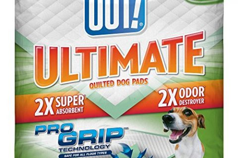 50-Count – OUT! Ultimate Pro-Grip Dog and Puppy Pads, Regular