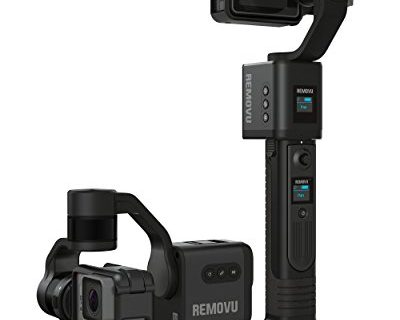 REMOVU S1 3-Axis Gimbal with Wireless Remote control for GoPro HERO6, HERO5 Black, HERO5 Session, Session, HERO4, HERO3+ and 3