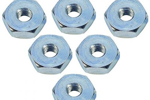 HIPA Pack of 6 Sprocket Cover Bar Nut for STIHL 017 018 020 020T 021 023 023L 025 MS170 MS170C MS180 MS200 MS200T MS210 MS230 MS250 Chainsaw