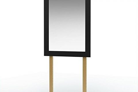South Shore Step One Collection Mirror, Black