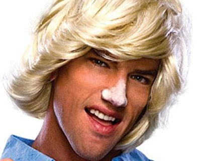 Rubie's Characters Surfer Dude Blonde Wig, Blonde, One Size