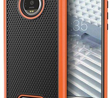 Moto Z Force Droid Case, Cimo Shockproof Heavy Duty Shock Absorbing Protection Cover for Motorola Moto Z Force Droid 2016 – Orange