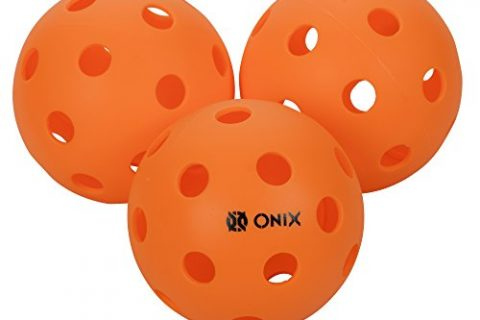 3-Pack, Orange – Onix Pure 2 Indoor Pickleball Balls