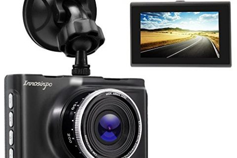 JINRAN Dash Cam 1080P 3.0″ FHD Car Camera Car Camcorder 140°Wide Angle Car On Dash Video with WDR, Super Night Vision, G-sensor, Parking Monitor, Loop Recording