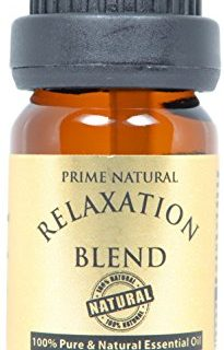 100% Natural Pure and Undiluted Therapeutic Grade for Aromatherapy, Scents & Diffuser – Relaxation Essential Oil Blend 10ml/0.33oz – Calming, Soothing, Boost Mood, Uplift, Romantic Sensual Scent