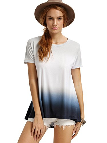 2d05daee5a36d ... Tee Shirt Blouse White M. Model measurement  height  172cm 5 8