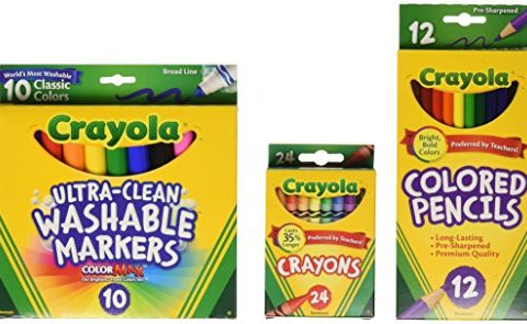 Grades 3-5 – Crayola Core Pack for Back to School