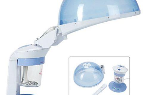 2 in 1 Ozone Mini Facial Steamer Facial Mini Table Top Face & Hair Hot Ozone Steamer Portable Beauty Equipment