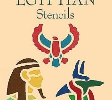Fun with Egyptian Stencils Dover Stencils