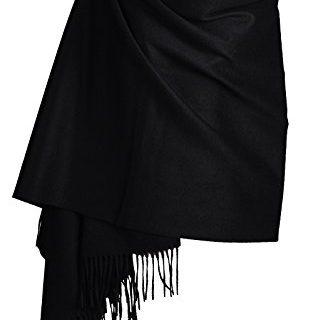 Women Soft Cashmere Wool Wraps Shawls Stole Scarf – Large Size 78″x 28″