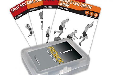 Fitdeck Exercise Playing Cards for Guided Home Workouts, Vertical Jump