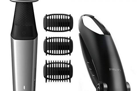 Philips Norelco Bodygroomer BG5025/49 – skin friendly, showerproof, back and body hair shaver and trimmer