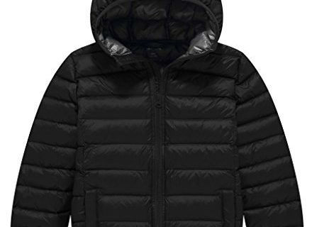 ZSHOW Boy's and Girl's Lightweight Packable Down Jacket Outwear Hooded Windproof Puffer Down Coats