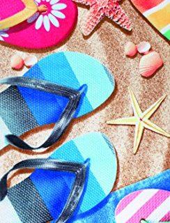Sandals velour brazilian beach towel 30×60 inches