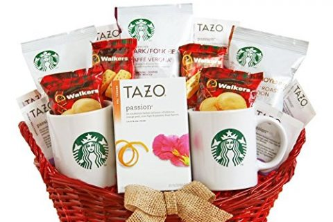California Delicious Starbucks For A Special Someone Gift Basket