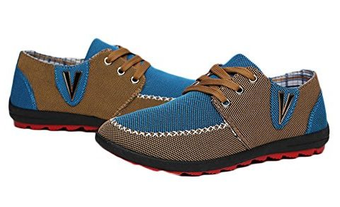 King Ma Mens Canvas Shoes Sneakers
