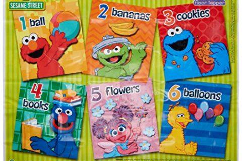 Sesame Street Meal and Play Mat