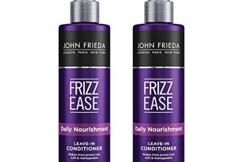 John Frieda Frizz Ease Daily Nourishment Leave-in Conditioner, 8 Ounces Pack of 2