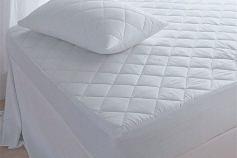 Waterproof Mattress Pad Twin XL – Super-soft Quilted Cotton Bed Cover best for silent, comfortable sleep. Breathable for cool, restful nights. Protects against allergens, perspiration, spills