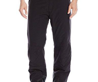 White Sierra Men's 30″ Inseam Toboggan Insulated Pants, Black, Medium