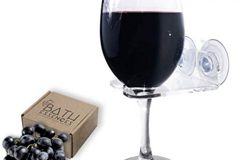 Bath Essences Bathtub & Shower Wine Glass Holder Pamper Yourself Now!