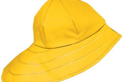 Dutch Harbor Gear Men's Sou'Wester Hat, Yellow, X-Large