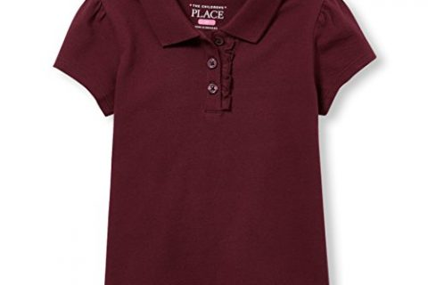 The Children's Place Baby Toddler Girls' Short Sleeve Uniform Polo