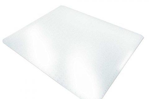36″ x 48″, Multiple Sizes – Clear, Studded, Rectangular Carpet Floor Protection Mat – Office Marshal Chair Mat for Carpet Floors, PVC, Low/Medium Pile