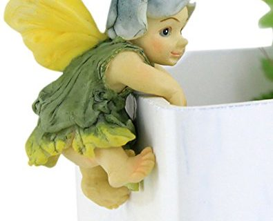 Top Collection Miniature Fairy Garden and Terrarium Fairy Baby Flower Pot and Vase Hugger, Mini