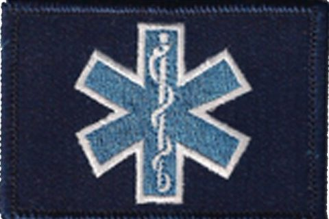 EMT Star Of Life Tactical Patch – Blue by Gadsden and Culpeper