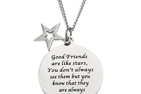 Good Friends Are Like Stars You Don't Always See Them… Friendship Necklace, Best Friend Gifts for Women