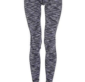 Mono B Women's Slim Fit Performance Activewear – Printed Yoga Leggings
