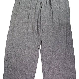 Mens Solid Knit Sleep Pant, Flannel Heather Grey 39738-XX-Large-FBA – Hanes