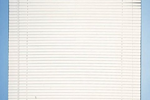 Achim Home Furnishings Morning Star 1-Inch Mini Blinds, 23 by 72-Inch, White