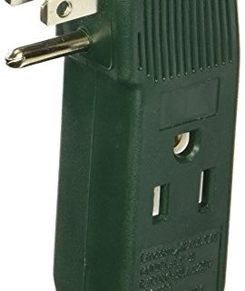 IIT vertical wall tap 3-outlet adapter – UL listed
