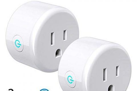 Zotta Smart Plug 2-Pack WIFI Mini Smart Outlet Switch, Compatible with Alexa, echo dot & Google Home, No Hub Required, Remotely Control Your Devices from anywhere Upgraded Version