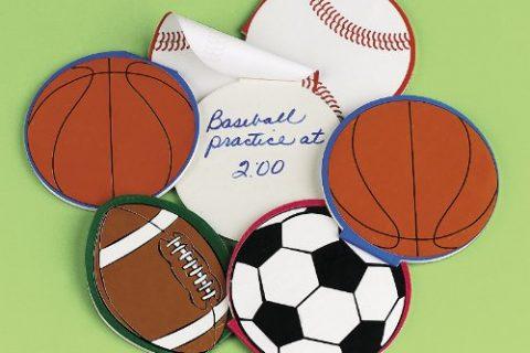 Sport Ball Notepads 2 dz by Fun Express