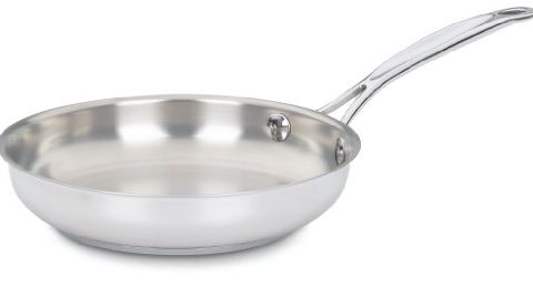 Cuisinart 722-20 Chef's Classic Stainless 8-Inch Open Skillet