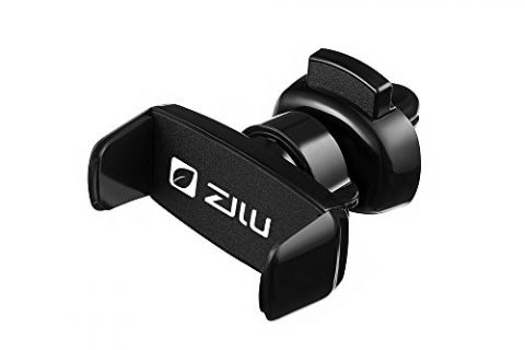 ZiLu Car Phone Mount, Air Vent Car Phone Holder Multi-angle Adjustable for iPhone X/8/8P/7/7/6s/,Galaxy S8/S7/S6/S5/Note and other Smartphones-Retail Packaging