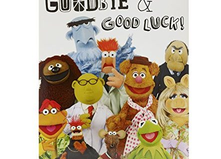 Large – Disney Muppets Goodbye Sorry You're Leaving Card